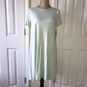 ASOS Jersey Mint Tee Shirt Dress 10